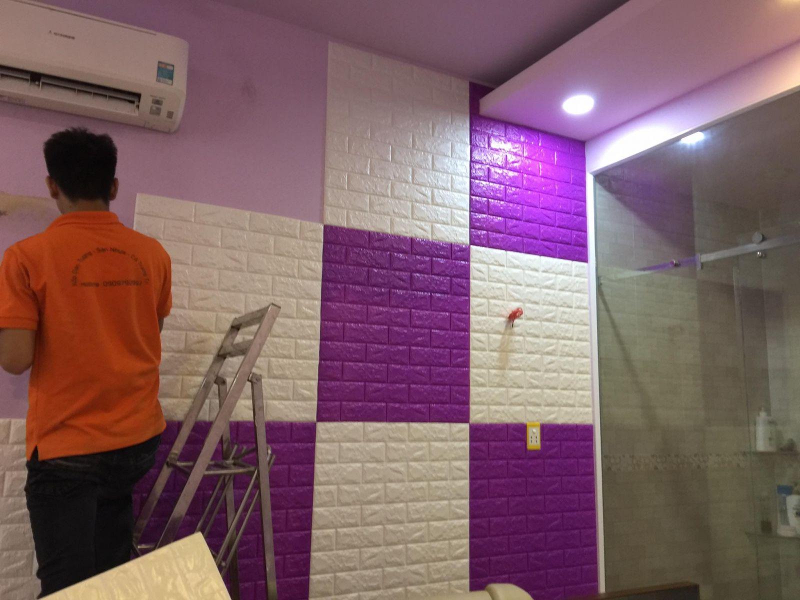 xốp dán tường tp hcm